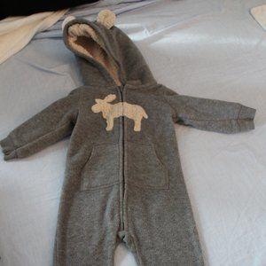 Carter's fleece suit